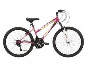 "Huffy Alpine Women's 24"" 18-Speed Mountain Bike, New"
