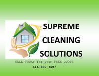 Post Renovation/ Construction Cleaning Maids 416-897-0497