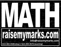 Math tutoring - grade 11, grade 12