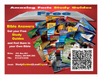 Bible Study Guides -No Charge- Mail to your Door / or online