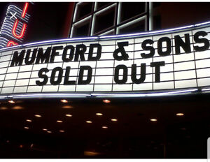 Mumford and sons tickets!!!
