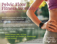 Pelvic Floor Fitness Workshop - Sunday February 26, 1-3pm