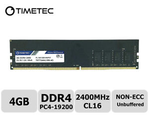 TIMETEC DDR4 4GIG (brand new! used for 15 mins)
