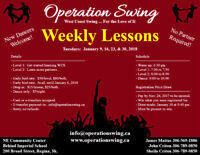 Learn to Dance!  West Coast Swing - First Lesson Free!
