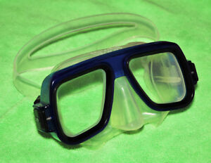 Very Low Volume Clear Silicone Dive Mask
