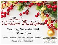 Vendors Needed - Christmas Marketplace at Aspen Lake