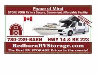 RV Storage-Strathcona County Red Barn