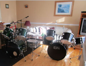 TWO SETS OF DRUMS FOR THE PRICE OF ONE