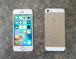 Telus/Koodo iPhone 5S White/Gold 16GB, mint condition.