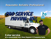 A+ BBB, reputable, established Edmonton movers - $100/hr, 2men