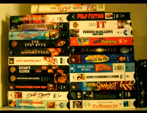 VHS Movies/Tapes for sale! Rare find!