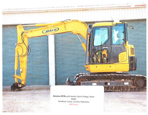 Komatsu PC78 Excavator & Attachments For Sale