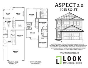 Brand New walkout tandem garage home in Beaumont $469K GST incl.