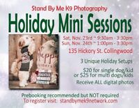 Canine Holiday Mini Photo Sessions
