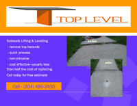 Concrete Lifting & Levelling