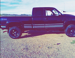 2002 Chevy z71 off road