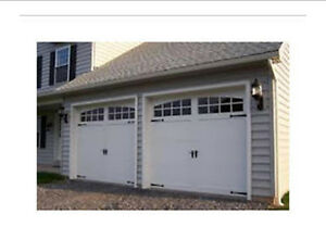 GARAGE DOOR SALE ALL SIZES Taupe,White, Brown, Almond...