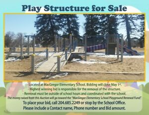 HUGE Play Structure for Sale! Best Offer!