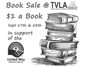 Book Sale - Fall Fund Raiser for TVLA and the United Way