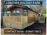 Pre owned LOG CABIN lodge chalet for sale Lake District Cumbria CHEAP SITE FEES
