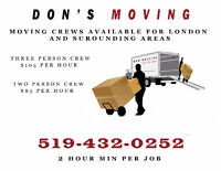 Professional mover's for London and surrounding areas available