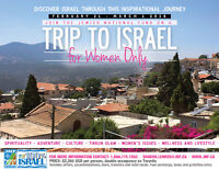 Women's trip to Israel - incredible opportunity & price!