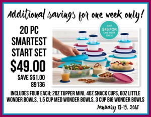 Tupperware! Save shipping!