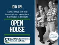 Dartmouth Seniors Service Centre - Open House