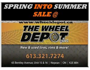 USED TIRE SALE @ THE WHEELDEPOT+