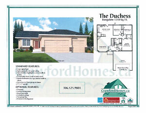 UNDER 360K Trades Welcome NEW BUILD BUNGALOW  in Pilot Butte