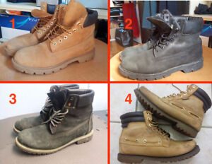 Mens TimberLand Boots ( PICK UP ONLY )