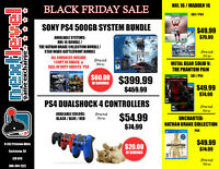 Black Friday Sale @ Next Level Game Exchange