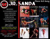 Sanda (Chinese Kickboxing)   Adult & Kid Classes available