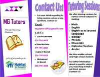 Tutoring Service - MG Tutors