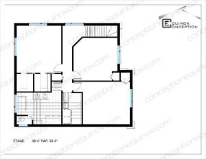 Plan de maison / chalet - Technologue Gatineau Ottawa / Gatineau Area image 7