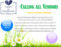 Do you make things????? We are looking for vendors!!!