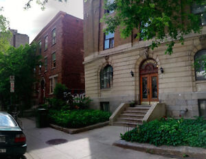 1br - DOWNTOWN sunny, furnished room in charming 3 BR apt
