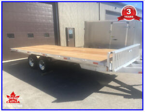 Alumininum 20' Deck over, Flat deck trailer 5 Year warranty!
