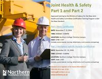 Joint Health and Safety Part 1