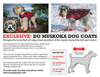 Do Muskoka Dog Coats