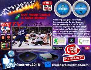 Android Tv boxes  Cornwall Ontario image 1