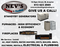 Nev's Heating and Cooling - Arnprior