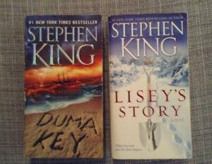 Stephen King pocket books