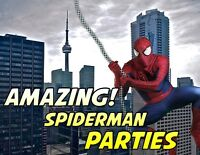SPIDER-MAN SUPERB BIRTHDAY PARTY PERFORMANCE/VISIT