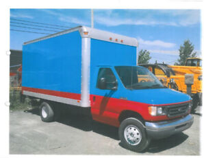 CAMION Cube Ford E-350 avec tailgate - 2006