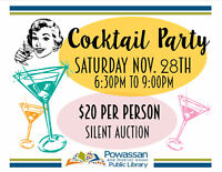 Powassan Library Cocktail Party