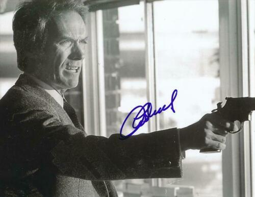 Clint Eastwood ( Dirty Harry ) Autographed Signed 8x10 Photo Reprint