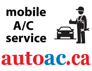 Car AC mobile service, top up, recharge, and more
