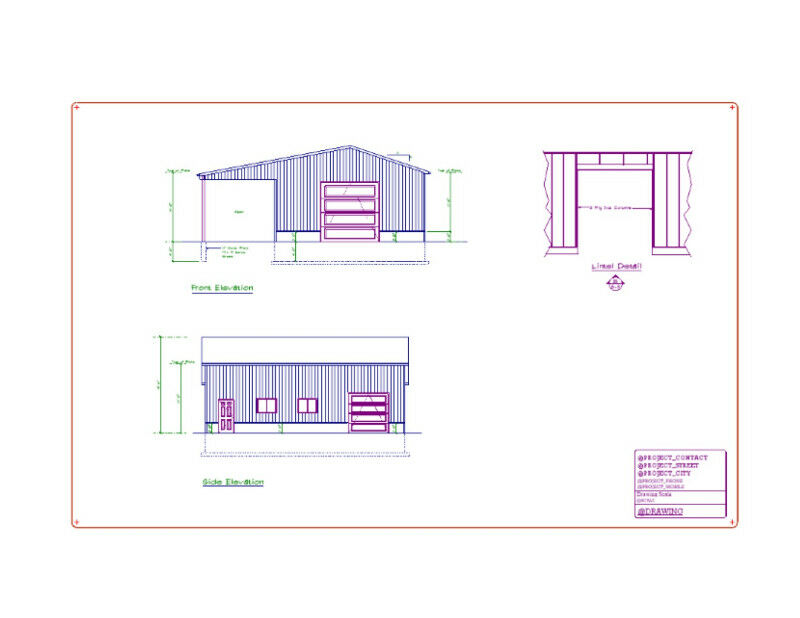 Structural/Architectural Building Permit Drawings | Other | Owen