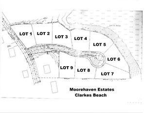 Moorehaven Estates - Clarkes Beach, NL - LOTS 1 & 2